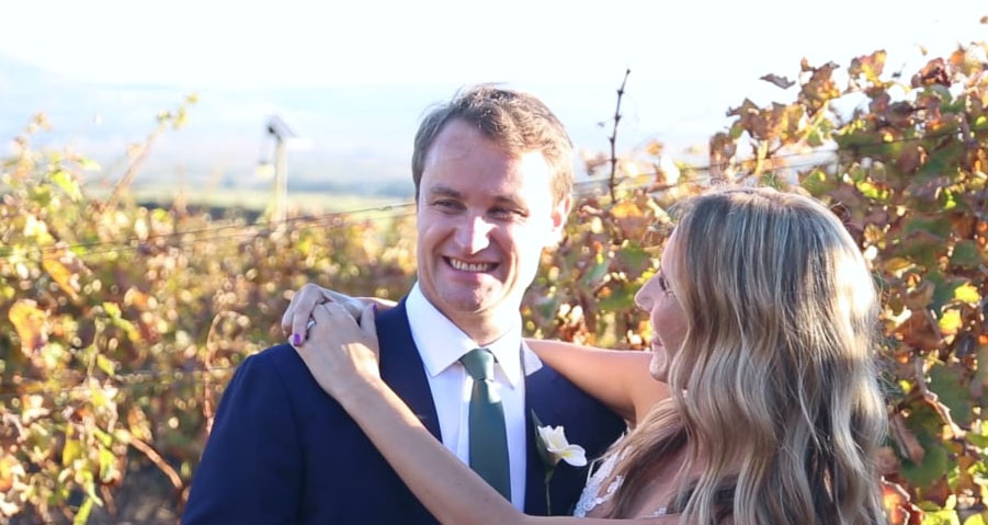 Chris and Kim | Cape Point Vineyards wedding | Guava Productions