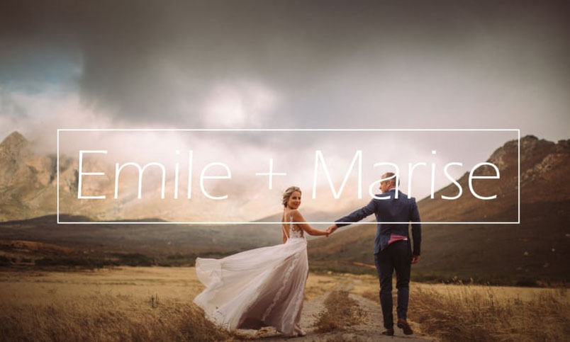 Emile & Marise | Bosjes wedding | Guava Productions